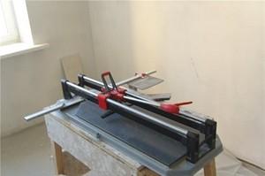 Вырезание кривых форм плитки