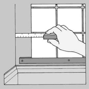 Подгонка кромочной плитки
