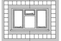 Планирование облицовки плиткой на всю стену